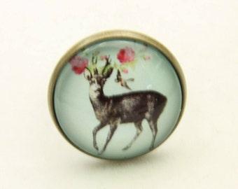 RING deer and flower(2020B)
