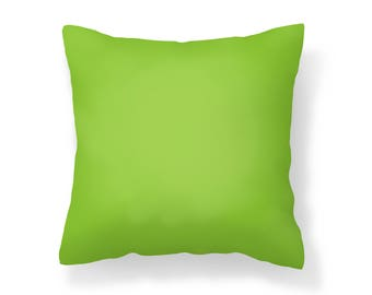 Lime Green Outdoor Pillow /UV Resistant Pillow /Yellow-Green / Mildew Resistant Pillow / Patio Pillow / Outdoor Cushion / Water Resistant
