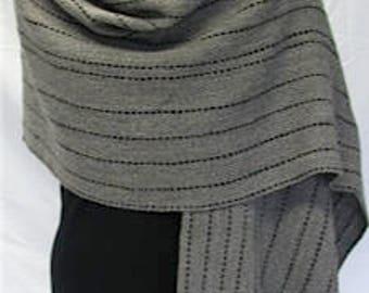 Handwoven shawl