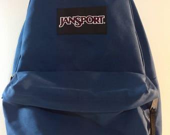 Teal Blue / Black / Nylon  JanSport Backpack