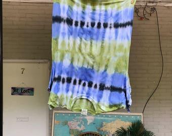 Comfort Colors Large Tie Dye Shirt