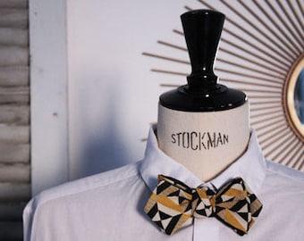 Bow tie graphic Scandinavian.