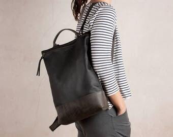 LEATHER BACKPACK black, laptop backpack, leather backpack large, leather backpack purse, leather backpack women, leather backpack, back pack
