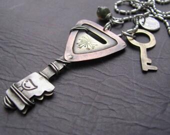 Necklace Key, Necklace Key Pendant, Pendant Key, Key, Key Charm,  Key Charm Jewelry, Necklace Key Charm, Metal Key Necklace, Key Jewelry