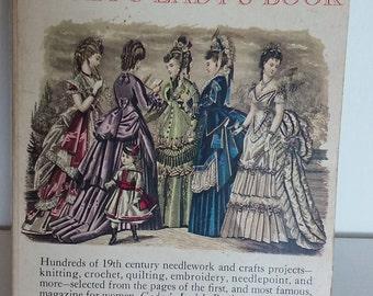 Vintage Needlework Book, Crafts, Godey's Lady's Book, How To Book, Sewing, Vintage Handcrafts, Needlework Patterns, Sewing Patterns