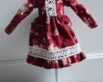 Pullip, Obitsu M - Red Dress