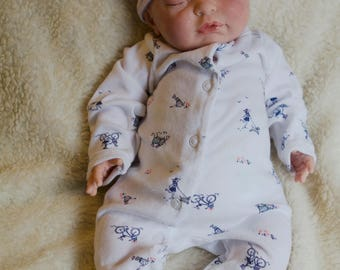 Reborn Baby Girl or Boy | Retired ORIGINAL Berjusa | Hand Painted Doll | Made to Order