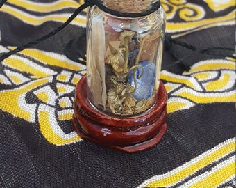 Magic Wicca Spell Sage Jar Peace