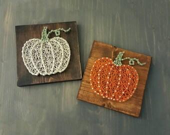 Pumpkin String Art /Halloween Decoration /Thanksgiving Decor /Halloween Decor /Thanksgiving Decoration /Pumpkin Decor /Fall Decor/ Farmhouse