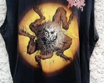 Morbid Angel - European Sickness Tour shirt Vintage (Death Metal, Bolt Thrower, Entombed, Deicide)