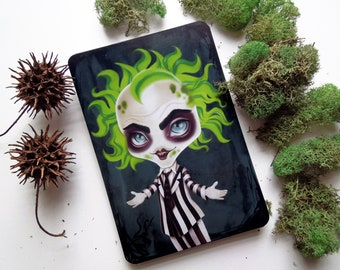 Beetlejuice, 4x6 Limited Edition Postcard, Postcrossing, Snail Mail
