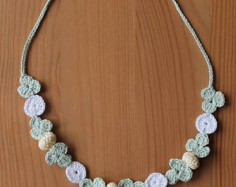 Floral Choker Necklace