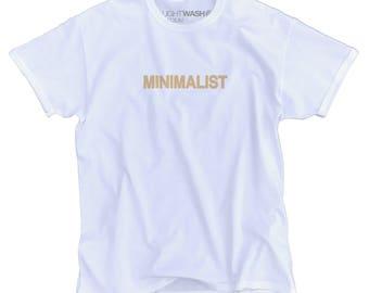 Beige Minimalist Tee -- Minimalist Shirt | Minimalist TShirt | Minimal Shirt | Simple Shirt | Minimalist | Basic Shirt | Minimalist Clothing