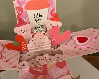 Valentine Explosion Card