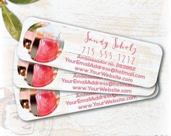 plexus label, plexus swag, plexus sticker, Printed Labels, pink drink label