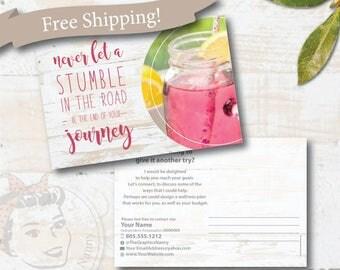 plexus second chances postcard, CUSTOM plexus postcard, plexus swag - Free Shipping