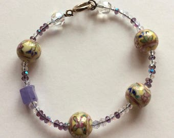 Handcrafted Crystal and Pearl Bracelets by Andrea Comsky