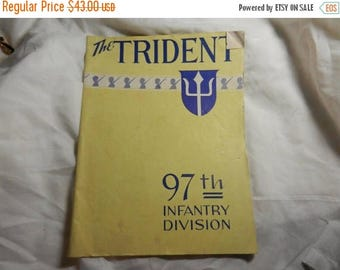 Summer Sale WW2 US Army 97th Infantry Div The Trident Magazine