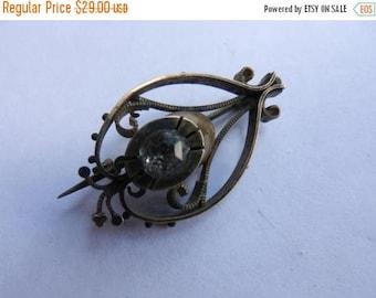 Summer Sale Vintage Victorian Gold Filled Brooch Pin