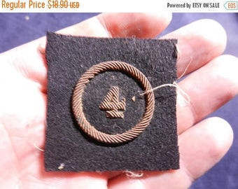 Easter Sale Vintage WW1 French Bullion Officers Uniform Insignia