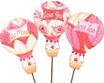 Valentine's Day Love Balloon/Wreath Supplies/Valentine's Day Decor/ V8033