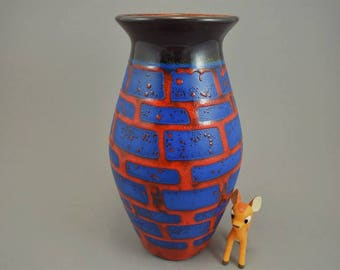 Vintage vase / Jasba / 1135 25   West Germany   WGP   60s