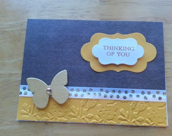 Beautiful Thinking of You Card