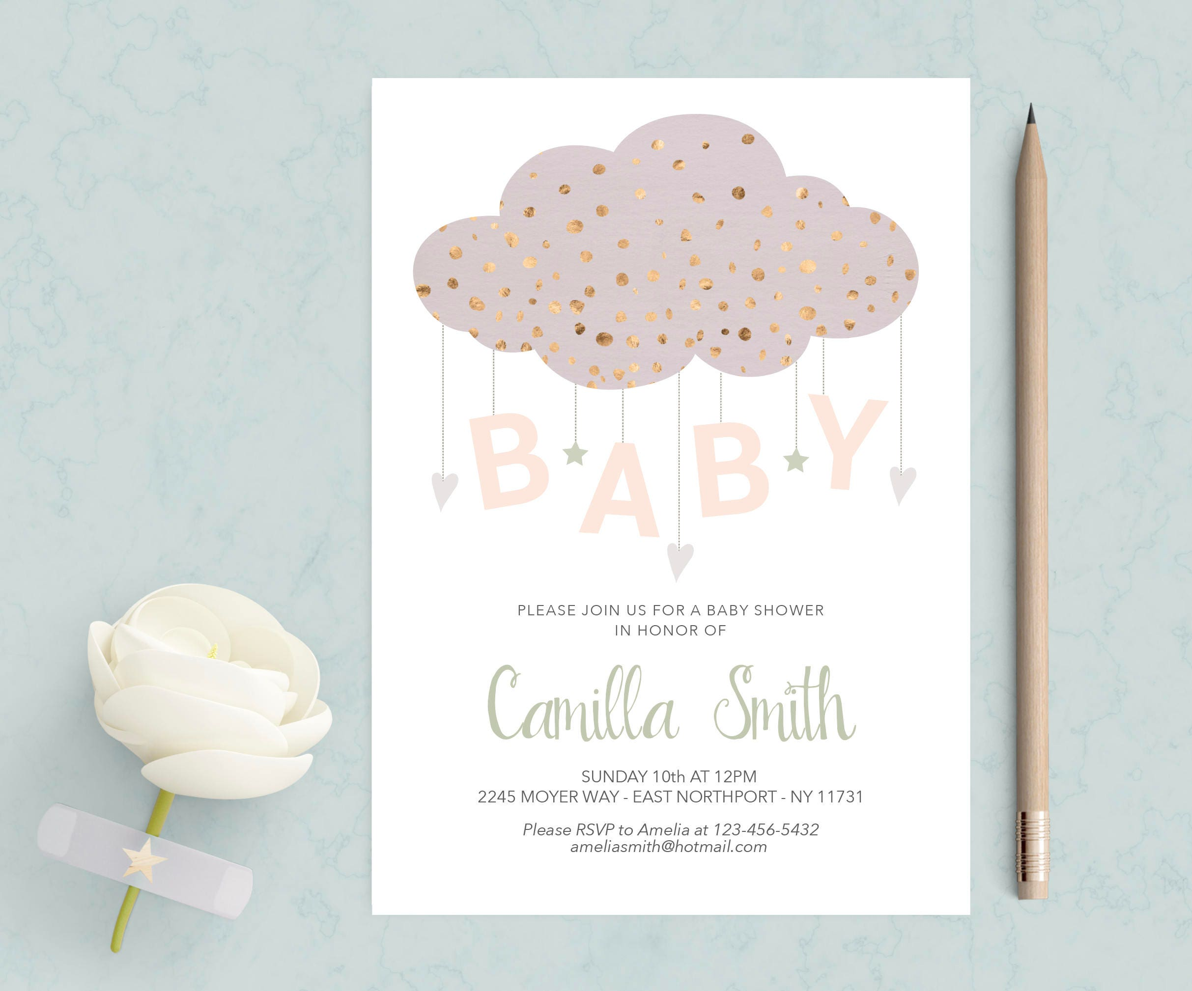 gray lavender bunny custom confirmation invitation ornate butterfly free damask baby holy princess and elephant first owl shower yellow kisses purple or invitations communion