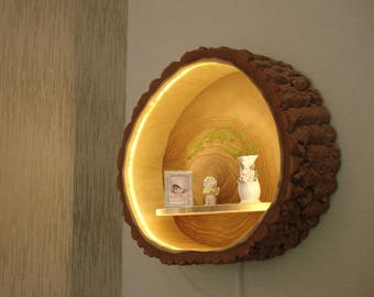 Wood lamp Wall lamp Wall lamp
