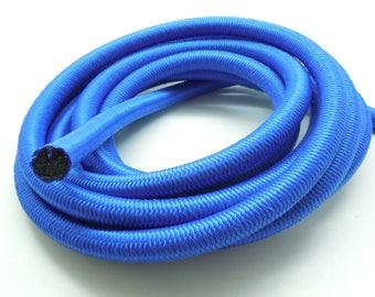 1 meter elastic cord blue nylon paracorde 10 mm