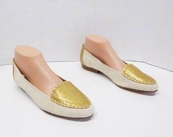 NORDSTROM green  loafer  women  size 9.5 Narrow