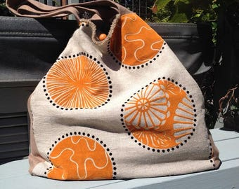 One of a kind handmade carryalls