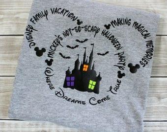Halloween Shirt, Vacation, Disney Halloween, Disney Vacation, Vacation Shirt, Vacation, Minnie,Mickey,Family Shirt,Halloween,Matching Shirts
