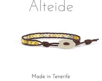 Anklet Las Teresitas - Alteide - made in Tenerife - surf inspired - 925 Silver - man woman - Agata laze