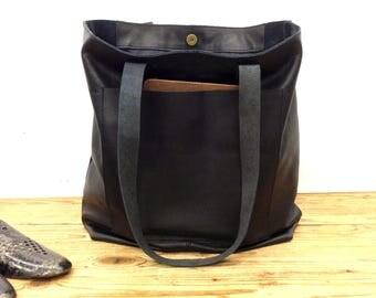 Sale!!!  Large Leather shopper bag, Leather tote bag, Leather market bag, Custom leather purse, Monogramed leather bag Handmade tote bag