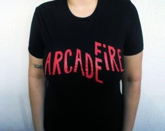 Arcade Fire T Shirt, The Suburbs, Win Butler, Régine Chassagne, Richard Reed, Parry William Butler, Reflektor, Neon Bible, Everything Now