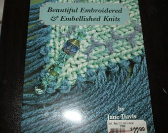Beautiful Embroidered & Embellished Knits