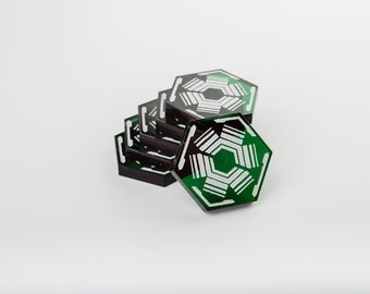 Acrylic Dodge Tokens