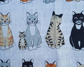Cats Towel. 74 cm x 47 cm.   Made in Ireland