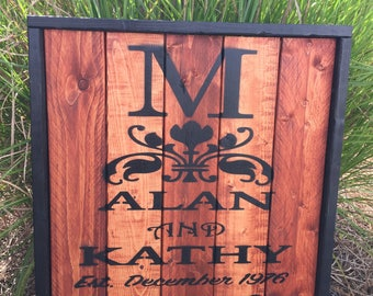 Family sign family wooden sign personalized wooden family sign customized wooden sign wooden family sign