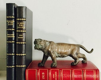 A vintage bronze Tiger, possibly from the Meiji Period, Japan