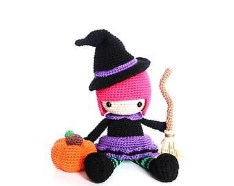 Halloween WITCH Crochet Pattern