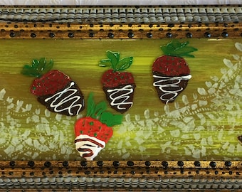 Chocolate Dipped Strawberries #562