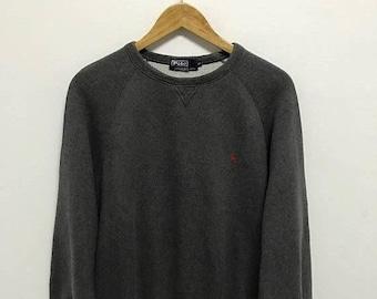 BIG SALE Vintage Polo Ralph Lauren Small Pony Sweatshirt/Ralph Lauren Sweater/Polo Sport