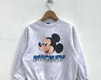 20% OFF Vintage Mickey Mouse Sweatshirt for Kids/Mickey Mouse Sweater/Mickey Mouse Disney/Cartoon Shirt