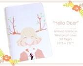 Hello Deer Notebook (10.5 x 15cm)