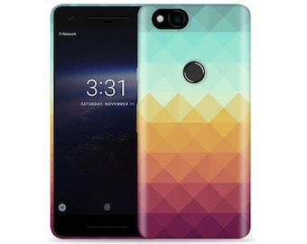 Google Pixel 2 Case - Pixel 2 Case #Pixel Waves Cool Design Hard Phone Cover