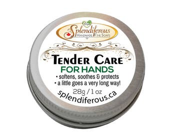 Tender Care for Hands, Hand Lotion, Hand Cream, for Dry Hands