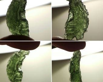 High Vibrations - Moldavite pieces for meditation, grids and healing