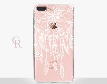 Dream Catcher Clear Phone Case For iPhone 8 iPhone 8 Plus iPhone X Phone 7 Plus iPhone 6 iPhone 6S  iPhone SE Samsung S8 iPhone 5